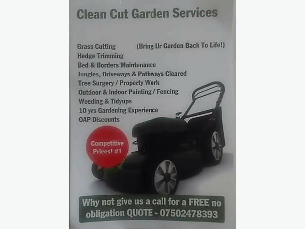 cleancut garden services