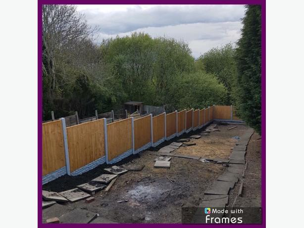 FOR TRADE: BARGAIN FENCING