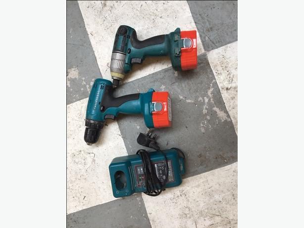 Makita Cordless drill and impact driver 14V