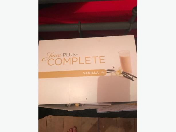 packs of juice plus x5 vanilla
