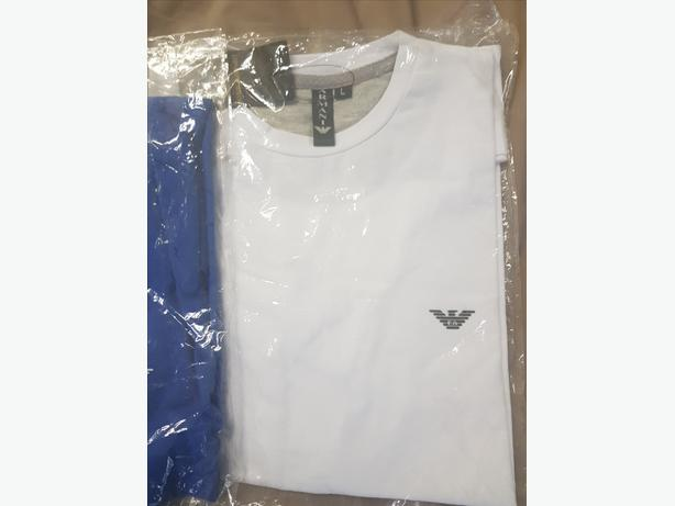 Armani & Ralph Lauren T-Shirts Brand New Can Deliver for £5 Locally