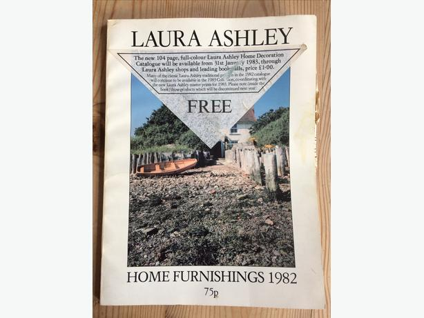 Laura Ashley Home Furnishings 1982 - 80 pages full colour