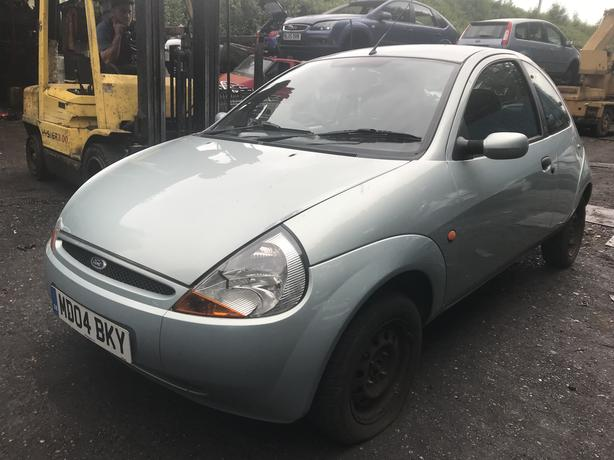 Ford Ka  Petrol Green Breaking For Spares Wheel Nut