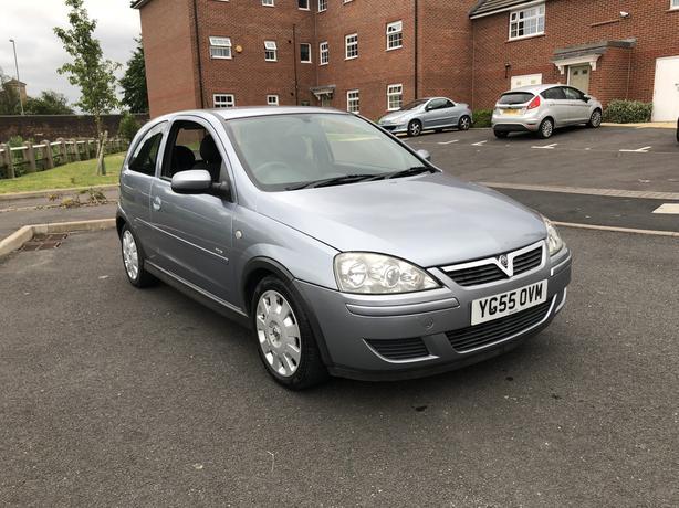 2005 (55) Vauxhall Corsa 1.2 Design 55000 Miles 3 Door