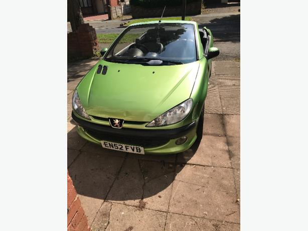 peugeot 206cc 1.6petrol for parts