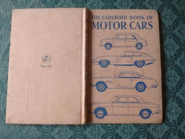 the ladybird book of motor cars 1963