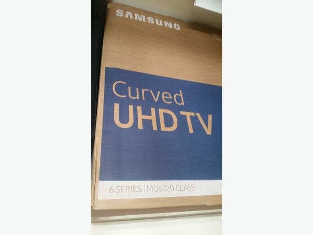 55inch samsung curved tv. with box