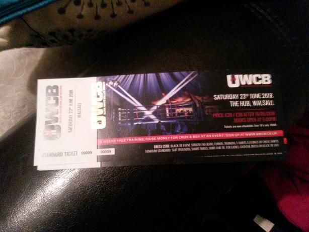 white collar boxin tickets