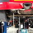 Proflow Exhausts stainless steel full system fitted to Vauxhall Astra VXR