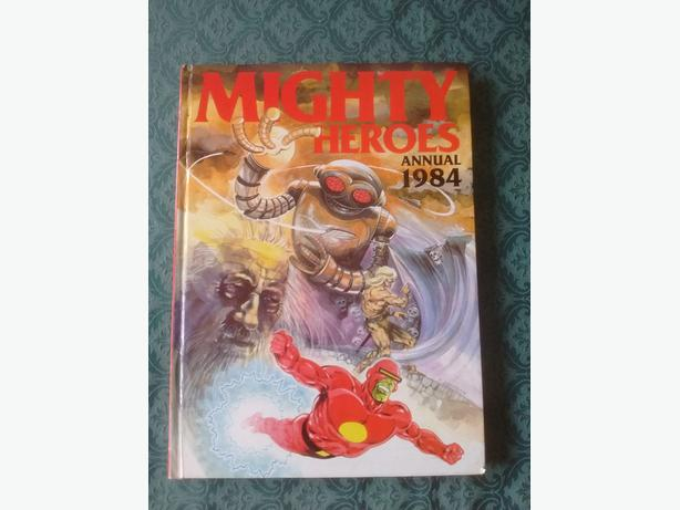 mighty heroes annual 1984