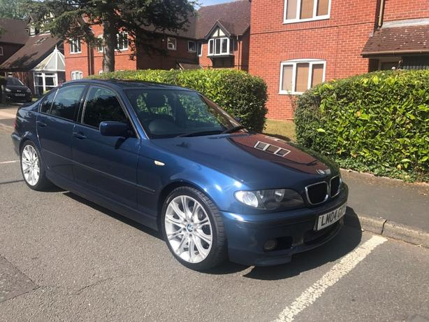 BMW 3 SERIES 320D MSPORT 2004 REMAPPED SUNROOF