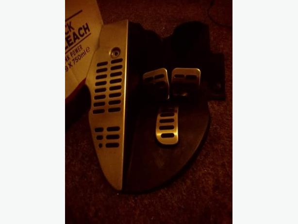 audi tt pedal set 2002