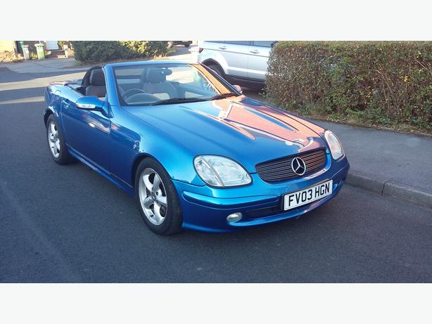 MERCEDES SLK 200 FSH 2003...px welcome