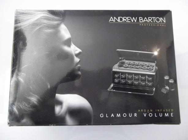 BRAND NEW ANDREW BARTON GLAMOUR VOLUME HEATED CURLERS