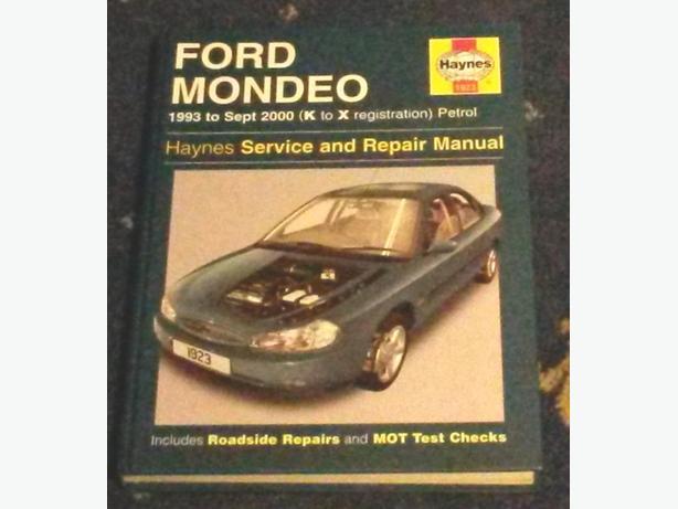 Ford Mondeo Haynes Manual - 1993-2000