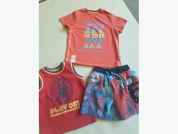 boys summer clothes age 2-3yrs