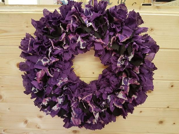 Handmade Rag Wreath