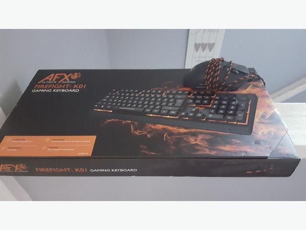 afx gaming keyboard and mouse