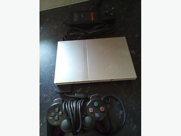 PS2 CONSOLE & 37 GAMES BUNDLE * REDUCED TO £60 *