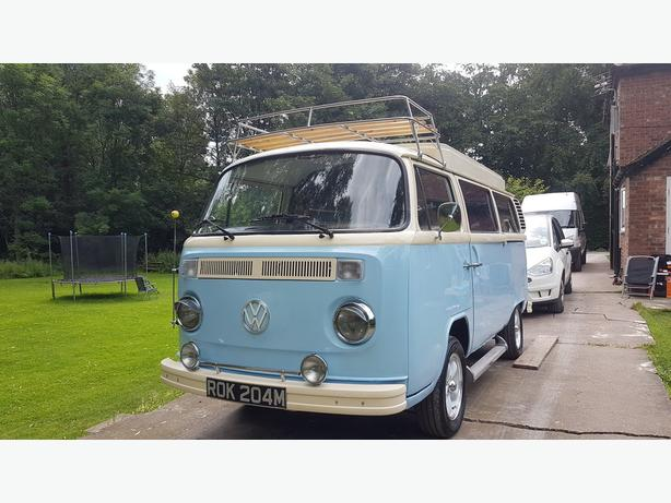 1973 blue Volkswagen Germany T2