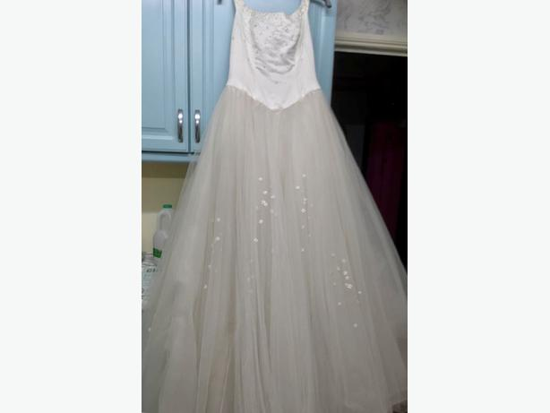 Offers. Ivory wedding dress. Size 14