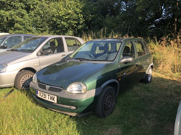 2001 Vaxhall corsa b 1.2 Long mot drives like new!! *Bargain*