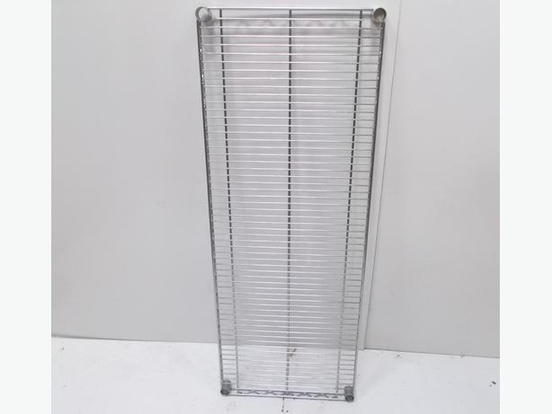 BIGDUG Chrome Wire Shelf 4 Levels