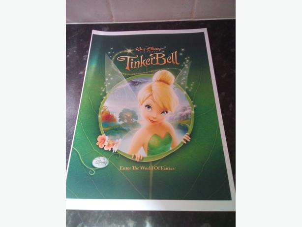 BRAND NEW TINKERBELL POSTERS