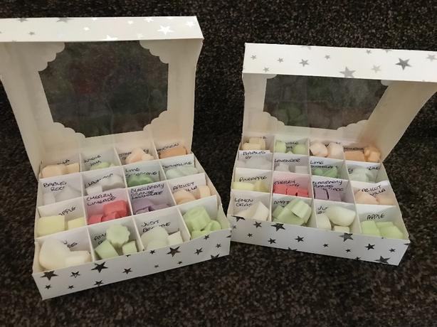 strong scented wax melts