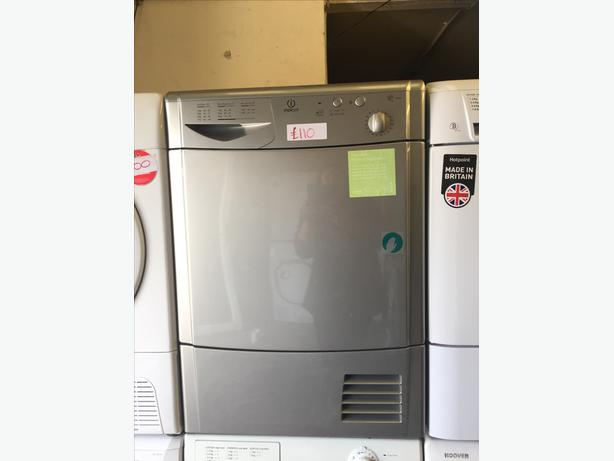 8KG SILVER INDESIT CONDENSER DRYER WITH GUARANTEE🌎🌎PLANET APPLIANCE🌎