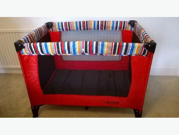 obaby travel cot