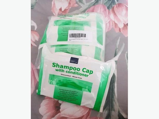 Dry shampoo caps. water free hair washing