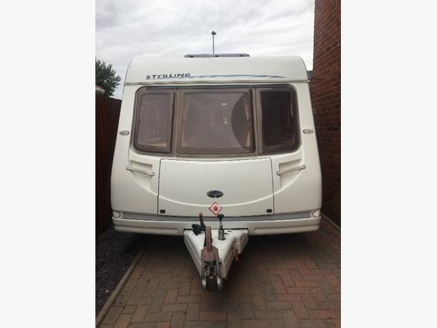 2004 4 BERTH STERLING CARAVAN WITH AWNING AND EXTRAS