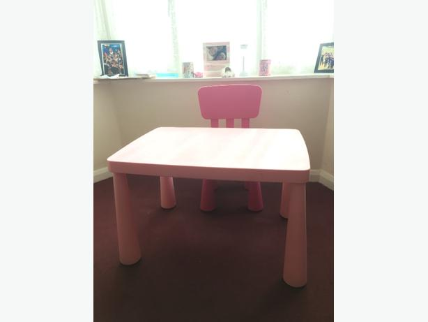 ikea table & chair