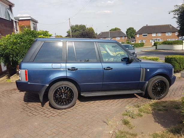 2005 range rover vogue