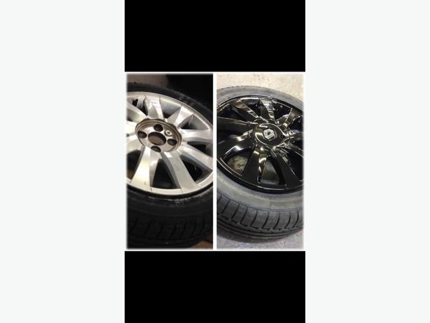 JD alloy refurbishment/spray and plasti dip service