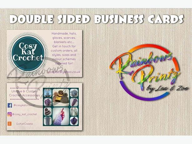**DOUBLE/SINGLE SIDED BUSINESS CARDS**