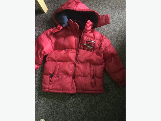 red jacket for boy 3-4 y