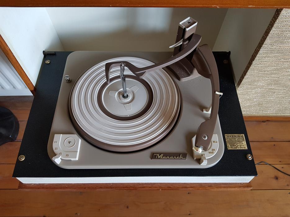 Stunning Designer 60s Sobell Sg674 Radiogram Record Player
