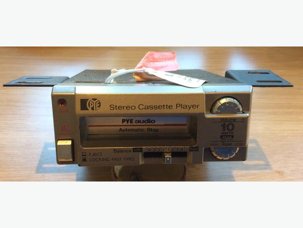 Retro Car Cassette Player