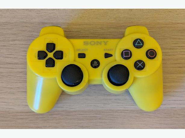 PS3 Yellow Controller (wireless)