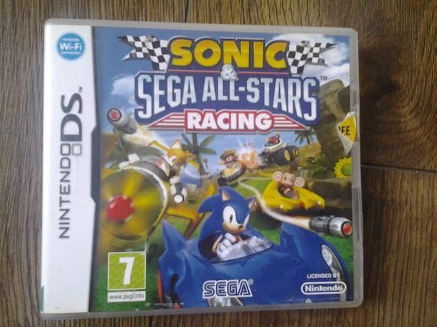 Sonic Sega All Stars Racing Nintendo DS, 2010