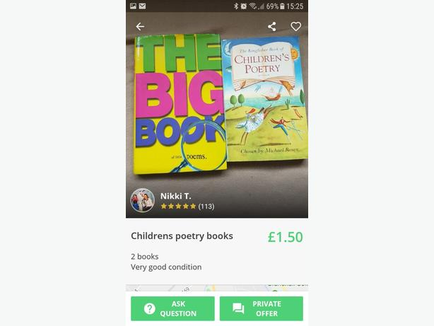 Childrens Poetry Books
