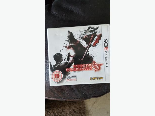 Nintendo 3DS Resident Evil The Mercenaries