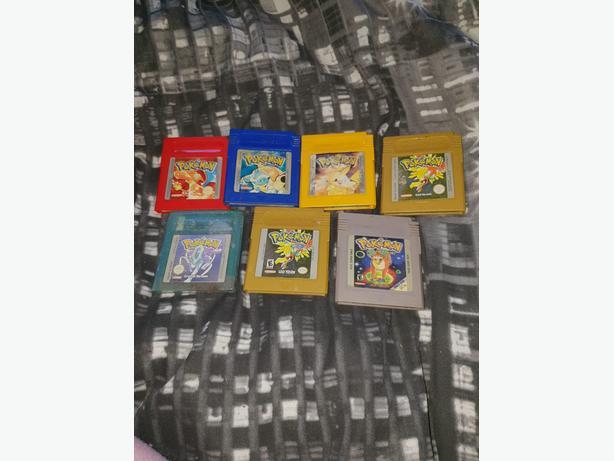 Gameboy Colour Pokemon Games * See Description *