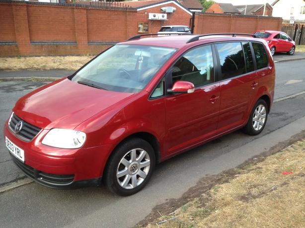 Volkswagen Touran 2003 16 7 Seater Wednesfield Dudley