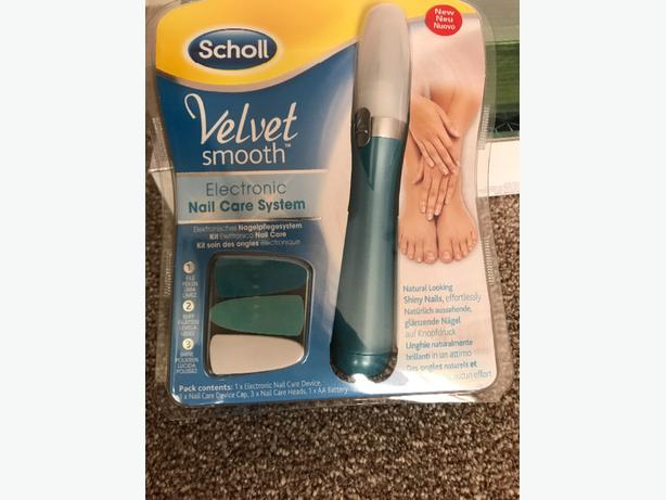 scholl nail care system
