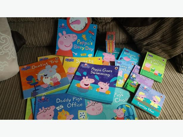 Log In Needed 15 Peppa Pig Book Collection Excellent Cond