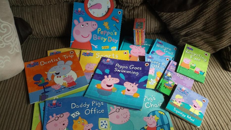 15 Peppa Pig Book Collection Excellent Cond