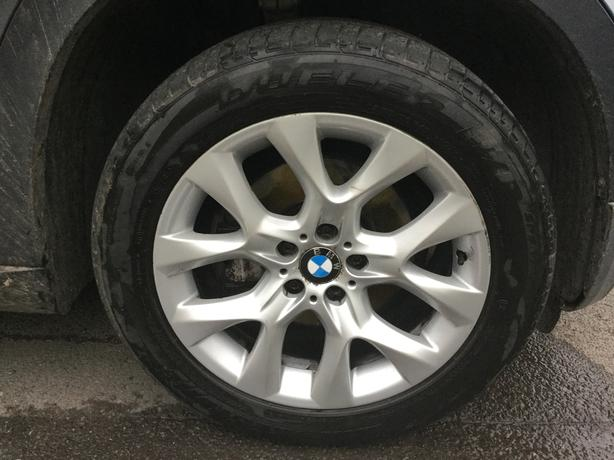 BMW X5 E70 2006-13 SE ALLOY WHEELS & TYRES 225/50  R19